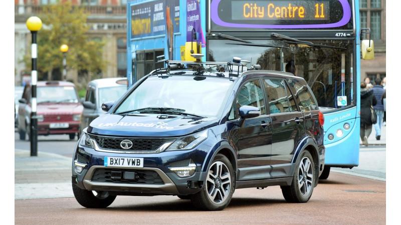 Tata Motors participates in UK Autodrive with the autonomous Hexa