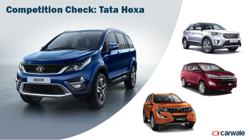 Competition Check: Tata Hexa