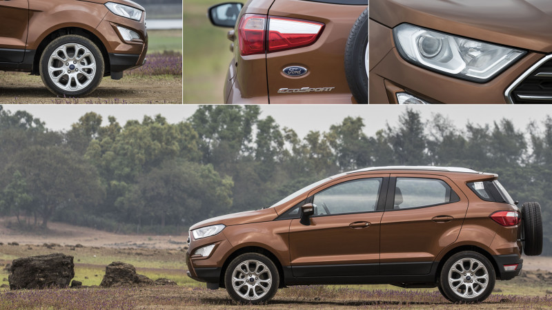 Ford EcoSport petrol Titanium Plus manual now available in India at Rs 10.47 lakhs