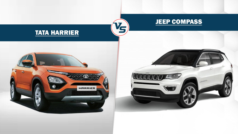 Tata Harrier Vs Jeep Compass: Spec Comparison