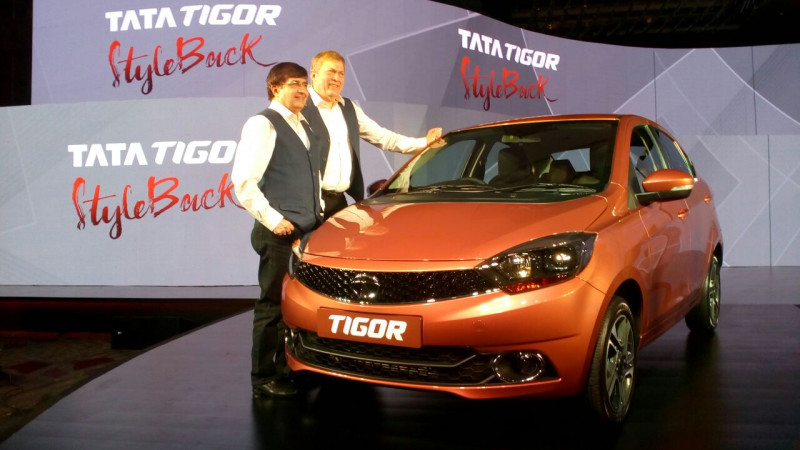 Tata launches Tigor at Rs 4.70 lakh in India