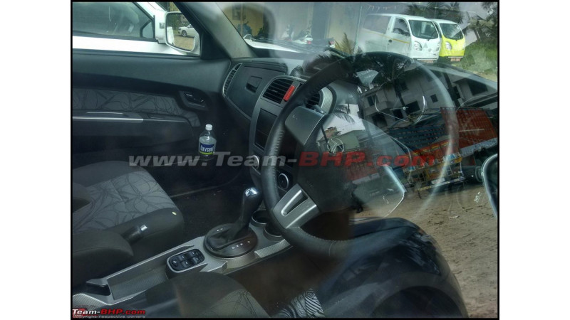 Tata Xenon facelift spotted with automatic transmission