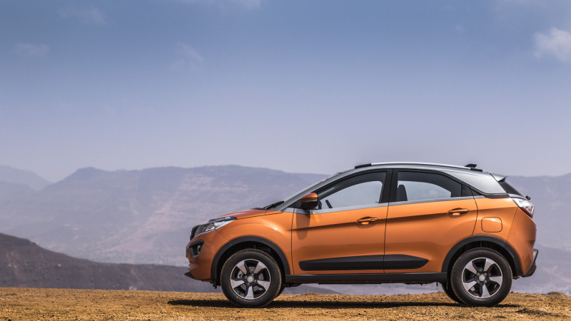Tata Nexon can be had with a sunroof as optional accessory