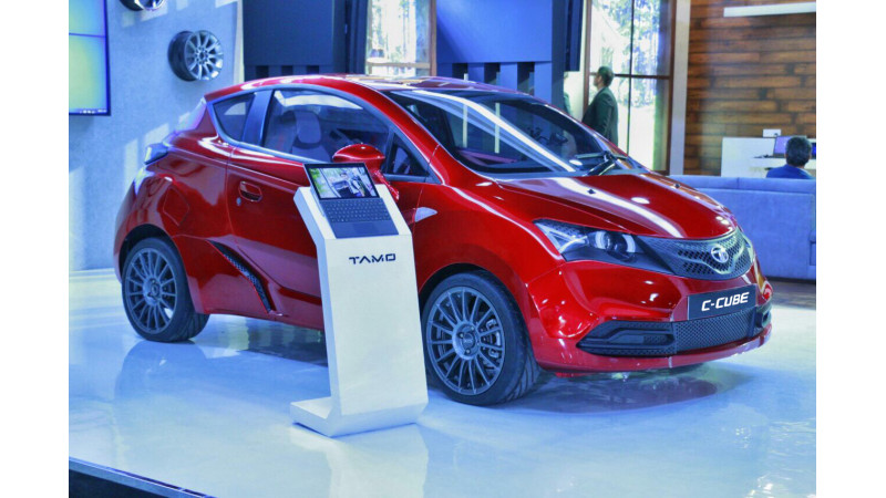 Tamo showcases C-Cube concept car