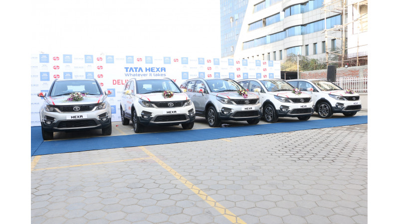 Tata Motors introduces Hexa in Nepal