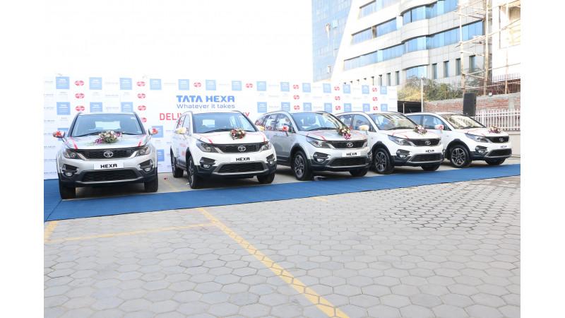 Tata Motors introduces Hexa in Nepal