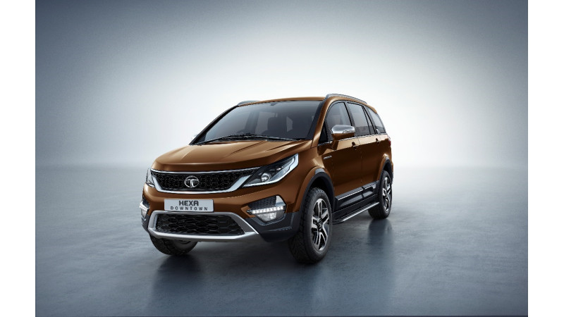 Tata launches Hexa Downtown Urban edition at Rs 12.18 lakhs