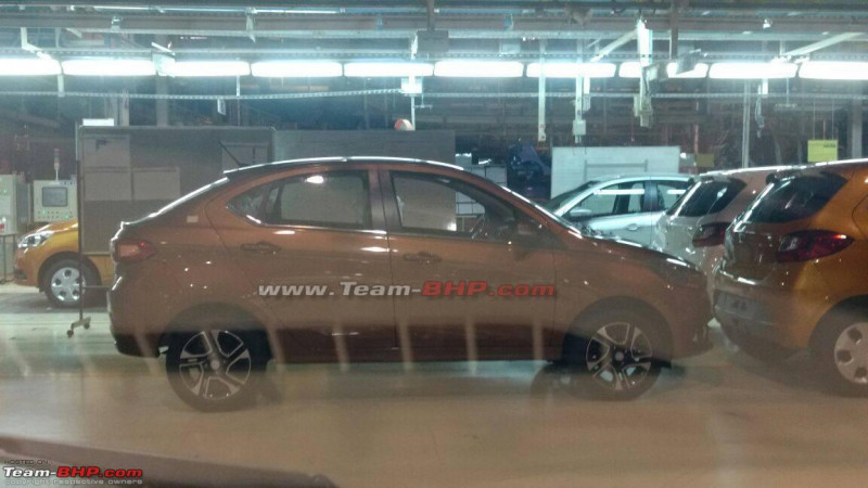 Tata Kite 5 sedan spotted without camouflage