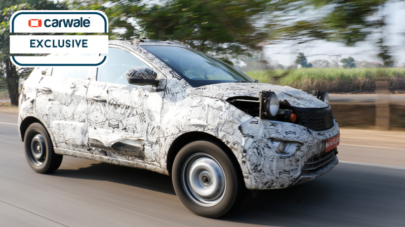Tata Nexon compact SUV spotted testing outside Pune