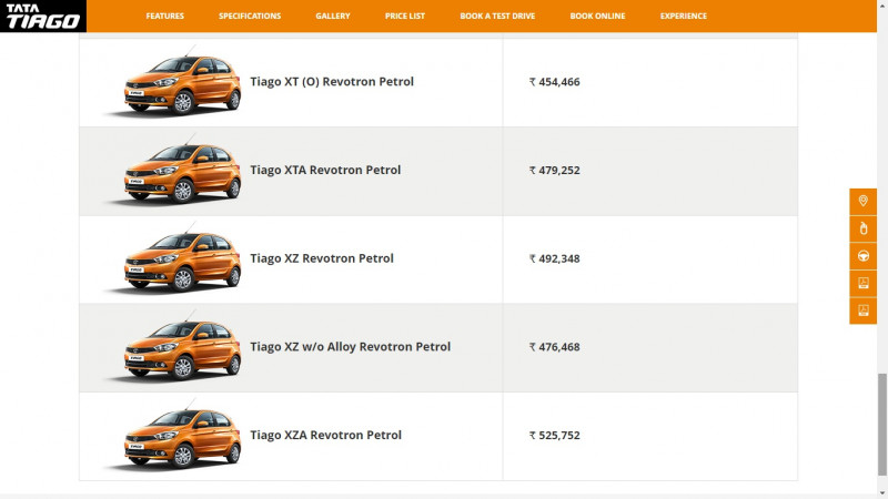 Tata Tiago AMT now becomes more affordable