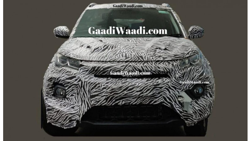 Tata Nexon facelift spied ahead of launch