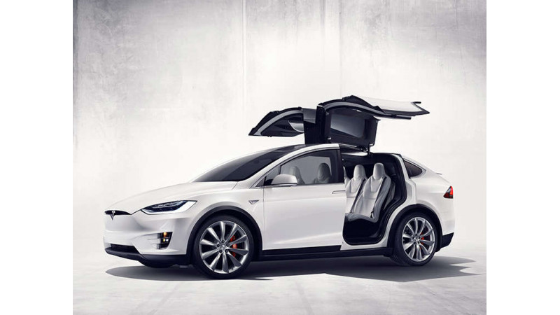 Tesla Model X to arrive in UK at Goodwood festival of Speed