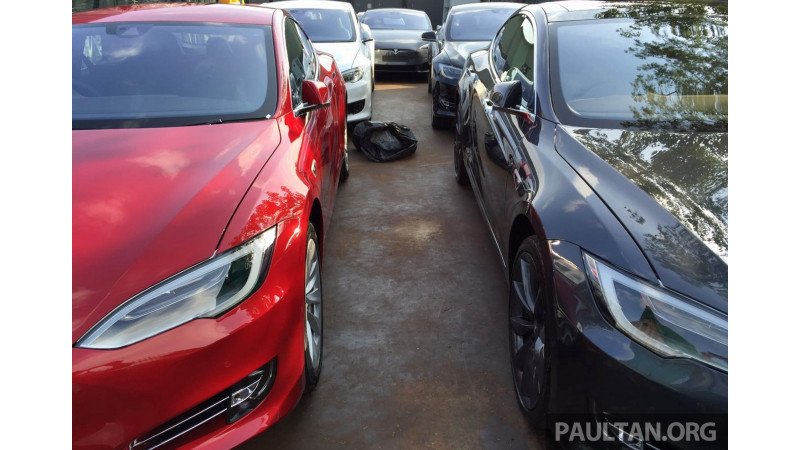 First batch of Tesla's Model S units despatched to Malaysia
