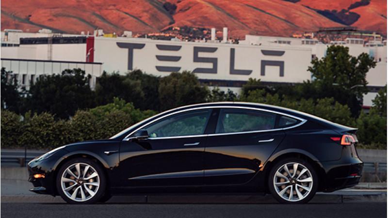 Tesla reveals production ready Model 3