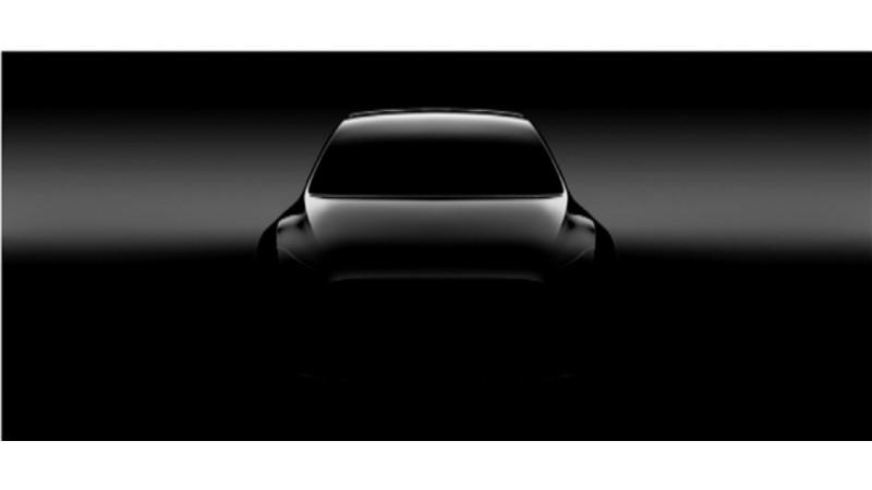 Tesla Model Y gets first teaser image