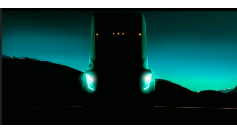 Tesla teases an all-electric truck
