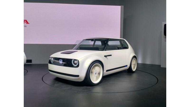 Tokyo Motor Show 2017: Honda showcases the Urban EV once again