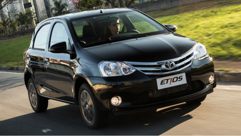 Toyota Brazil to equip Etios with an automatic gearbox