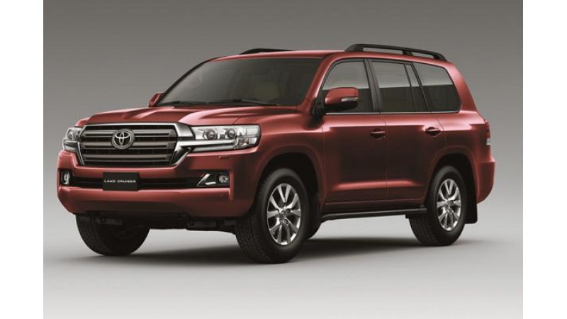 Toyota Land Cruiser 200 launched in India at Rs. 1.29 crore