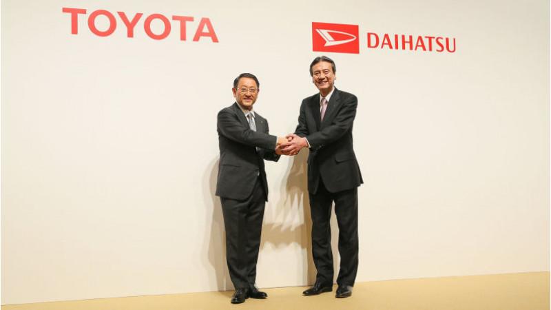 Toyota acquires Daihatsu to enhance small car development