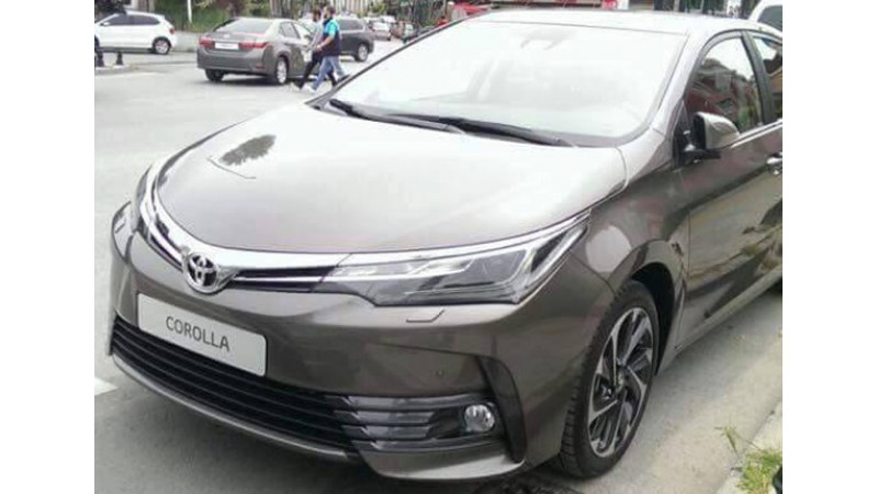 Toyota's facelifted Corolla Altis spotted in Turkey