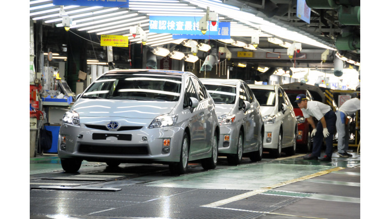 Toyota to stop production in Japan due to steel shortage