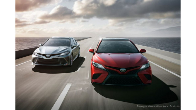 New Toyota Camry unveiled in 2017 Detroit Motor Show