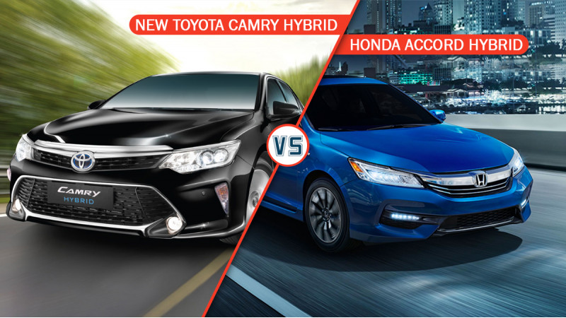 Toyota Camry Hybrid Vs Honda Accord Hybrid spec comparison