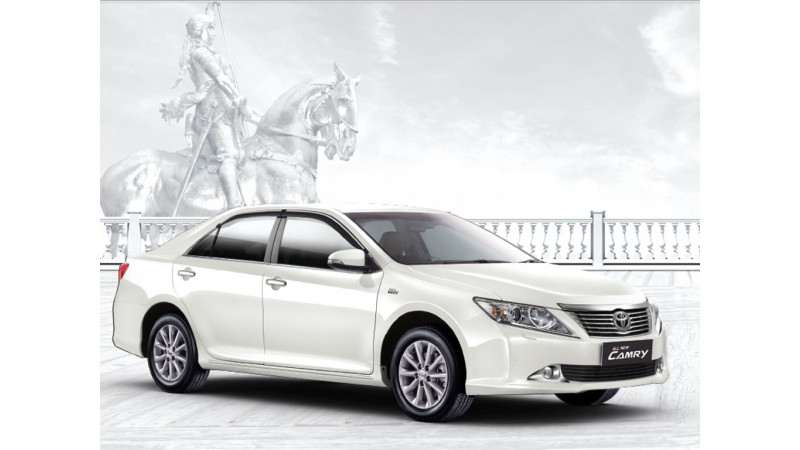 Toyota Camry Makes Its Way To The Indian Auto Market At A Price Of