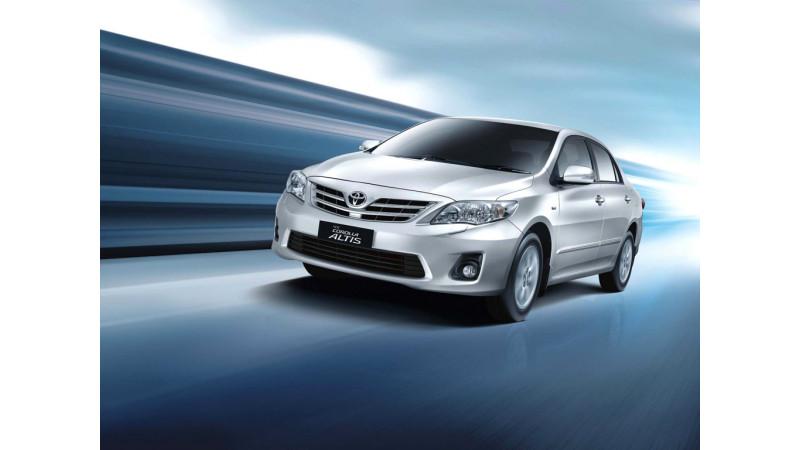 Toyota India announces a recall of 1100 units of Corolla Altis