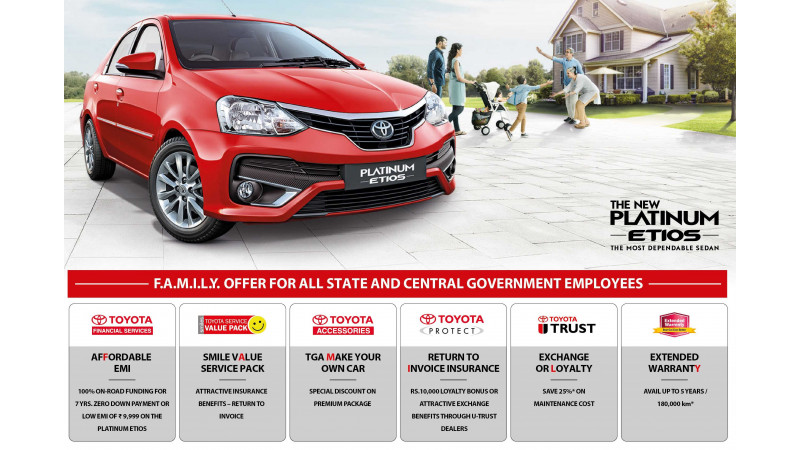 Toyota launches a new campaign for government employees