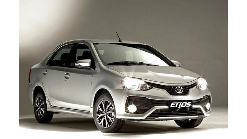 Toyota introduces 2016 Platinum Etios in India at Rs 6.83 lakh