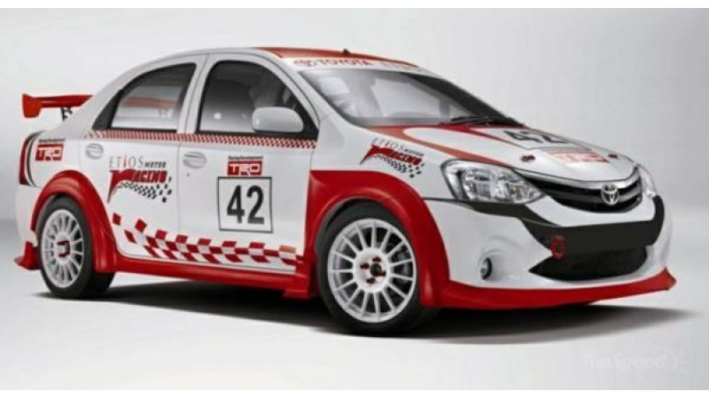 Toyota makes an announcement about the inaugural Etios Motor Racing Trophy