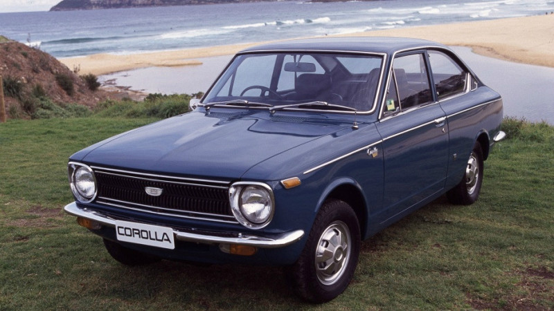 Toyota Corolla turns 50 today