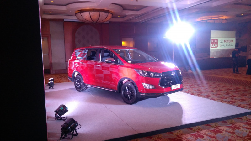 Toyota launches Innova Touring Sport at Rs 17.79 lakh
