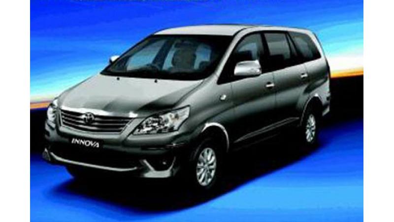 Toyota Innova Chrome Edition introduced in India