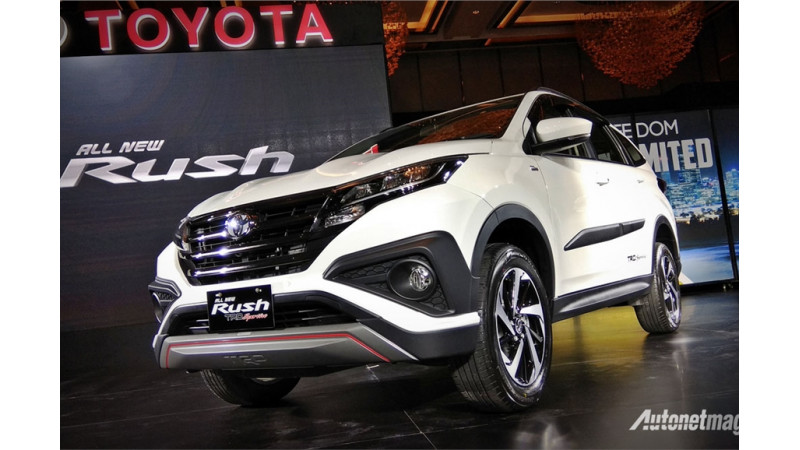Toyota reveals 2018 Rush in Indonesia