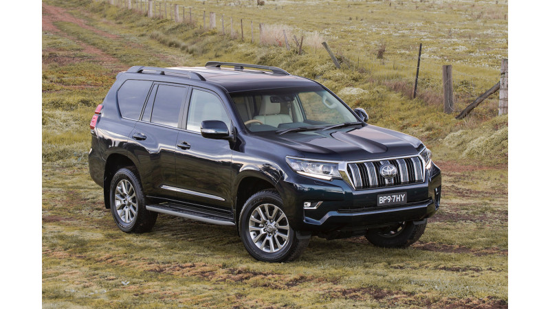 2018 Toyota Land Cruiser Prado launched in India at Rs 92.60 lakhs