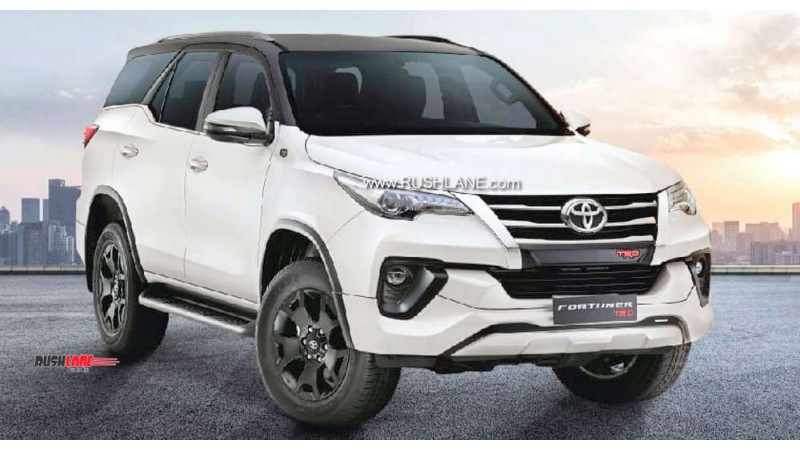 Toyota Fortuner TRD Sportivo leaked ahead of launch tomorrow