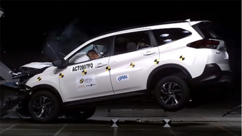 Toyota Rush earns a 5-Stars safety rating in ASEAN NCAP