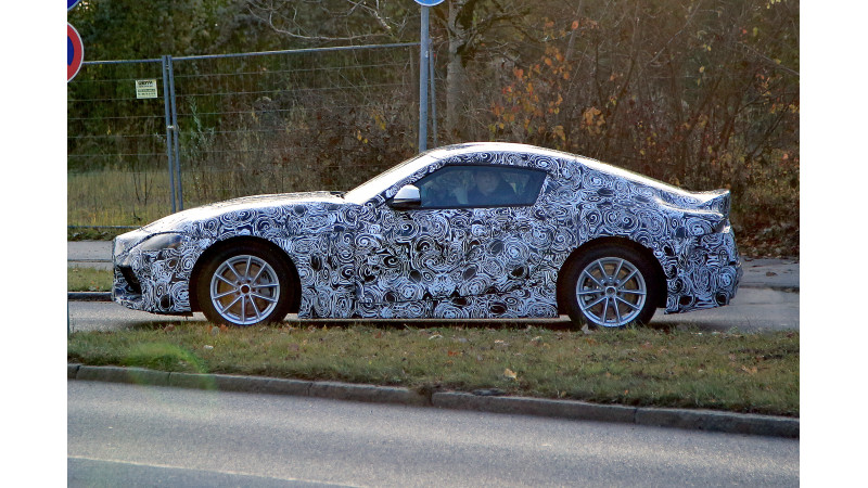 2018 Toyota Supra spotted on test