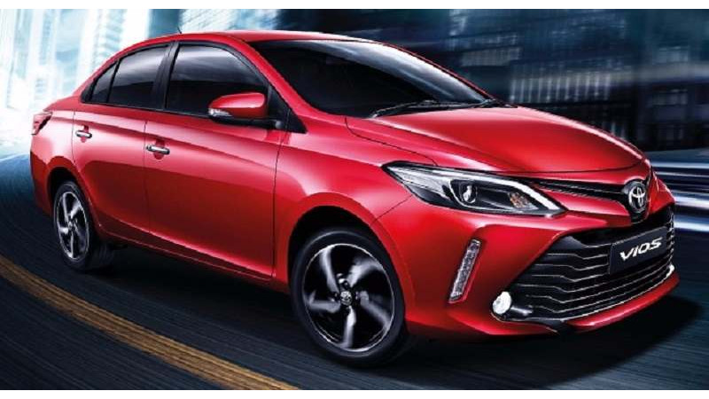 Toyota launches facelifted Vios sedan in Thailand