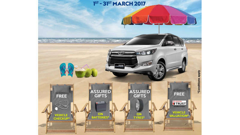 Toyota service campaign scheduled this month in South India
