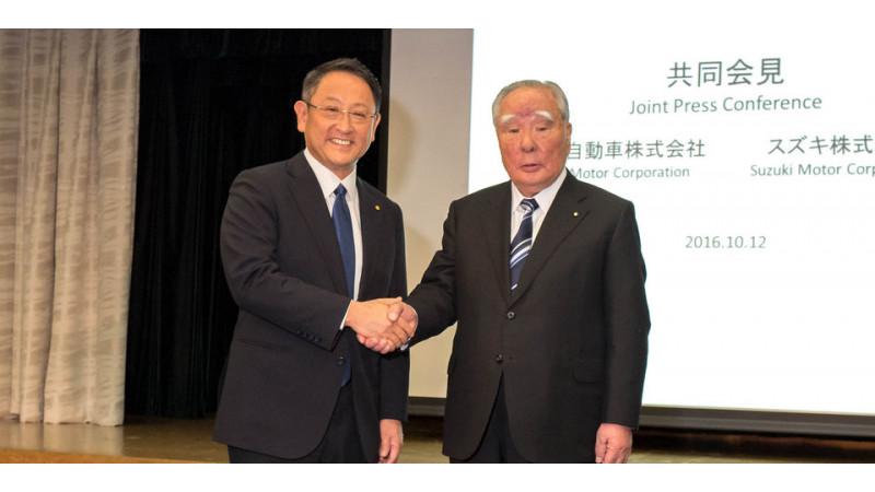 Toyota and Suzuki enters into a surprise partnership
