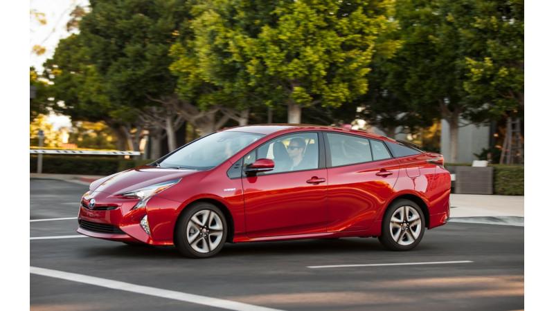 Toyota Prius recalled over parking brake problem