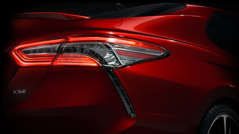 Toyota teased new Camry ahead of debut
