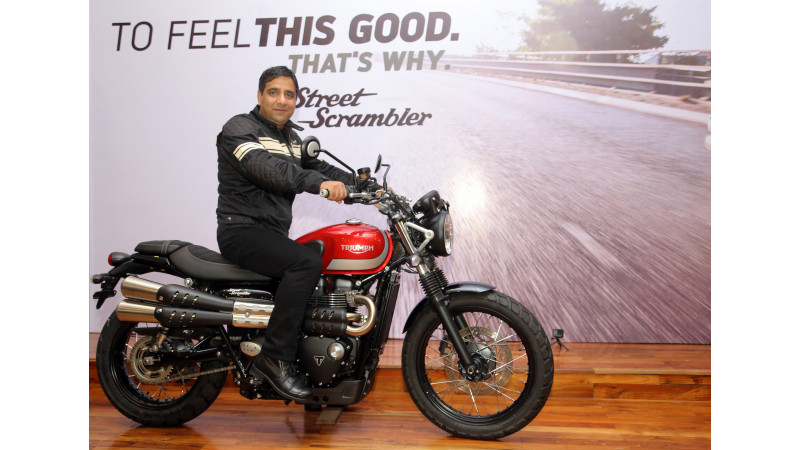 Triumph Street Scrambler launched in India at Rs 8.1 lakhs