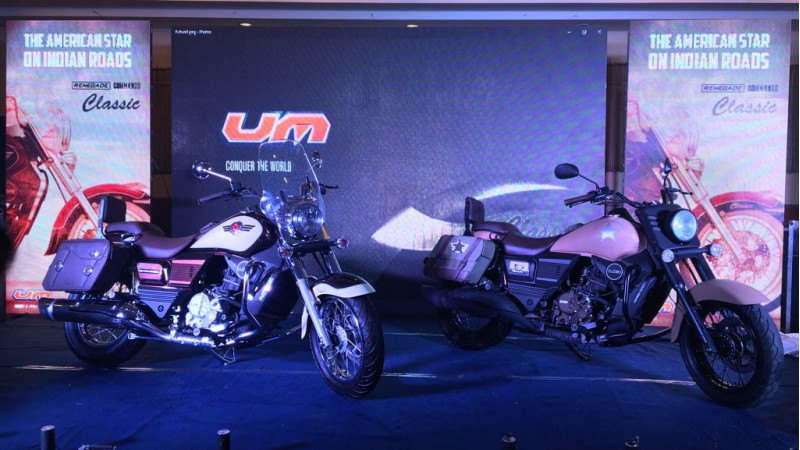 UM Renegade Commando Classic and Mojave launched in India