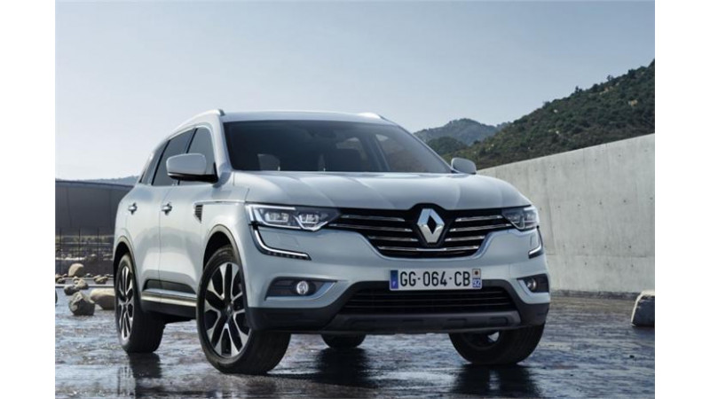 Upcoming Renault Koleos unveiled through leaked pictures
