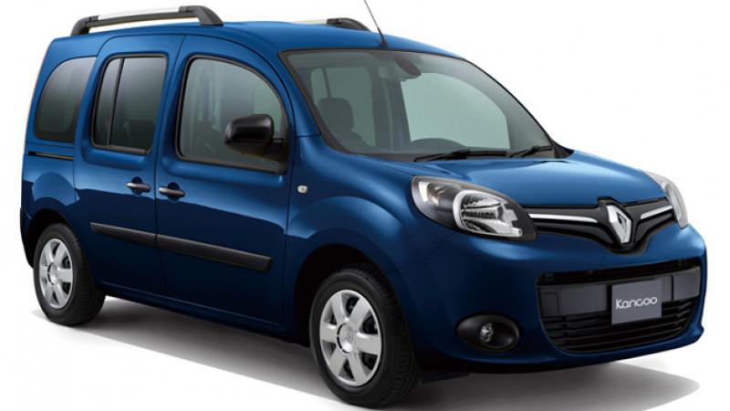 Updated Renault Kangoo Zen hits Japanese roads